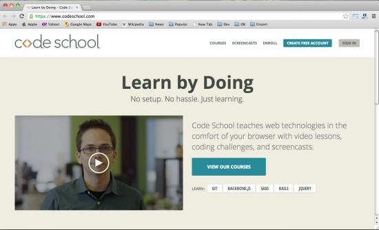 在哪学编程比较好?31个不能错过的快速学习编程的网站