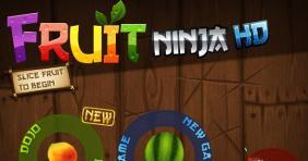 HTML5版切水果游戏网页版