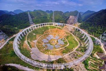 中国造世界最大射电望远镜 进冲刺阶段