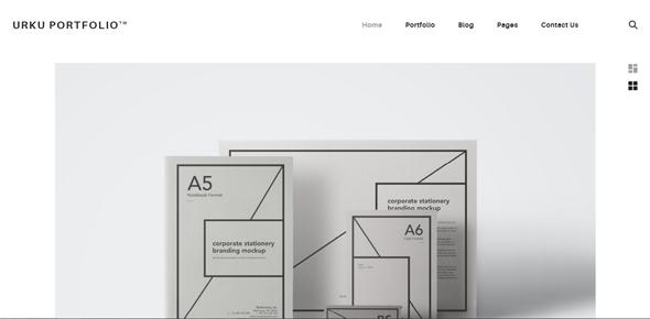 Urku-–-HTML-portfolio-template