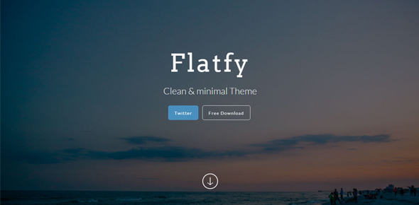 Flatfy-–-Flat-minimal-HTML-template