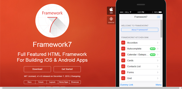 Framework7-–-HTML-framework-for-iOS7-apps